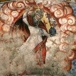 Pintura mural renacentista de la bóveda de la iglesia (s. XVI)