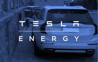 Cargadores de la compañía Tesla para vehículos eléctricos