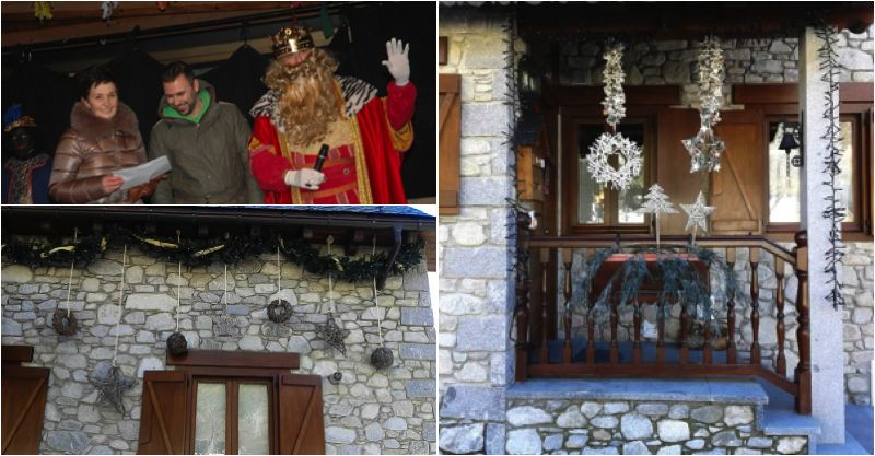 Decoración Navideña   Arties   Val d\'Aran   Pirineos   Spain
