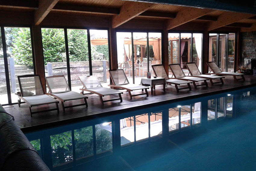 Spa en Arties. Hotel Casa Irene piscina
