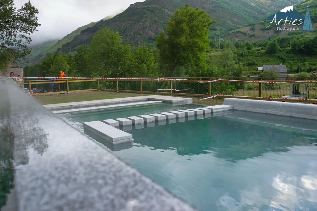 piscinas termales arties val d 39 aran pirineos spain