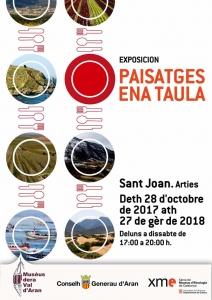 "Exposición ""Paisajes en la mesa"" @ Iglesia St. Joan d'Arties"