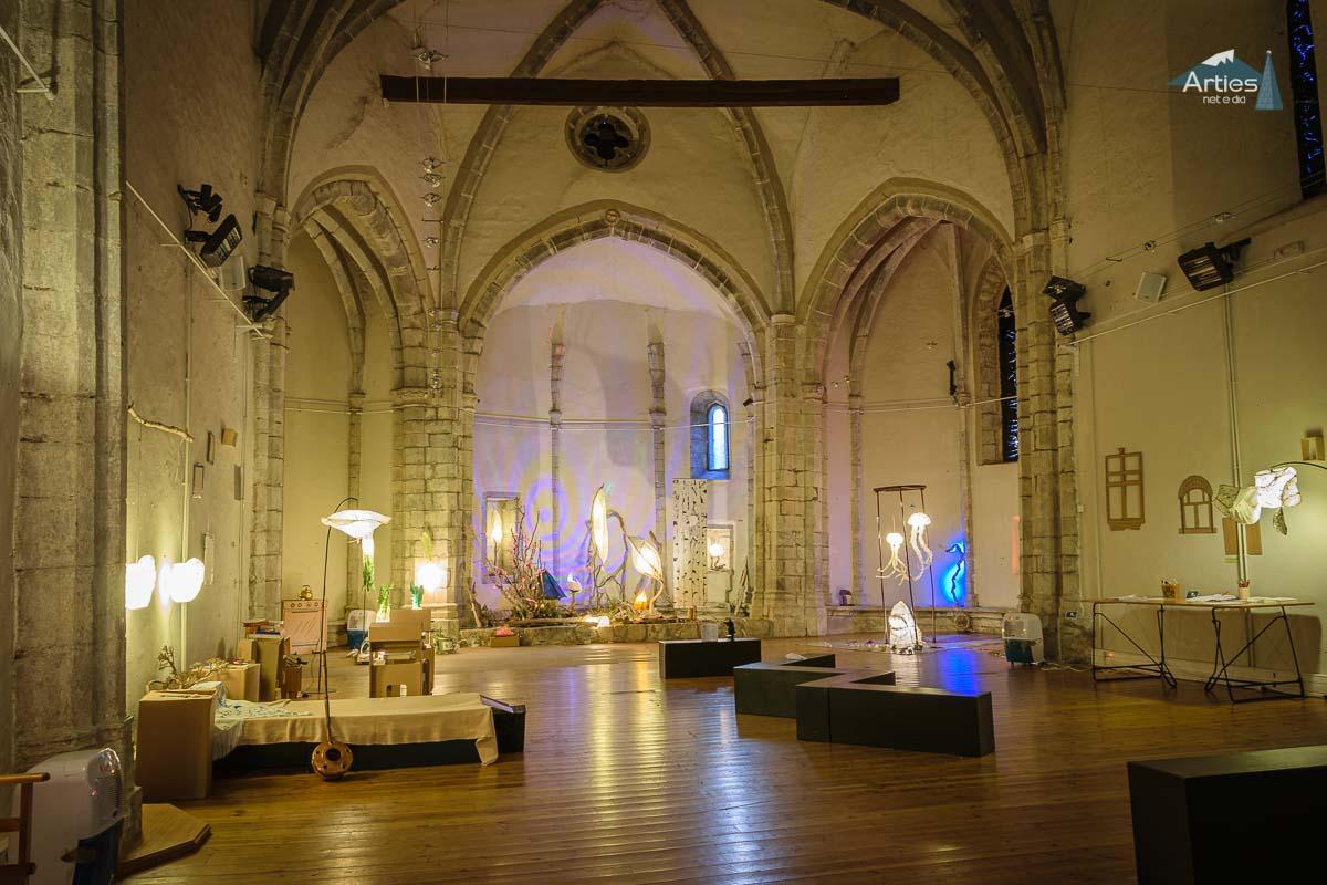Interior Iglesia Sant Joan d'Arties