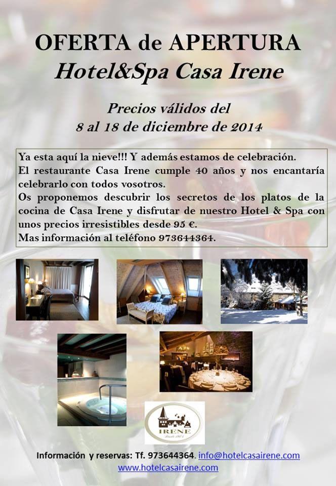 Hotel Casa Irene, ofertas para el mes de Diciembre!!