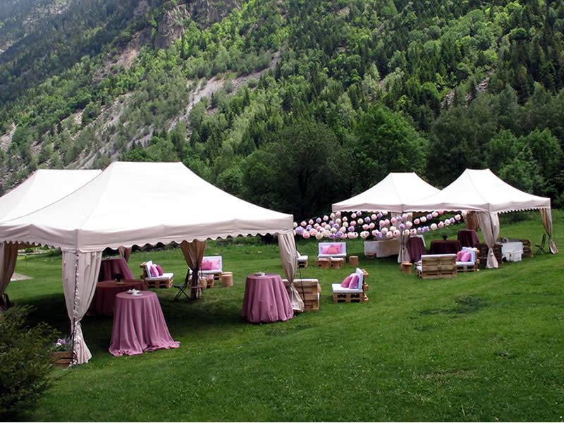 Bodas y eventos en Casa Irene, Arties, Val d'Aran., a 7km de Baqueira Beret