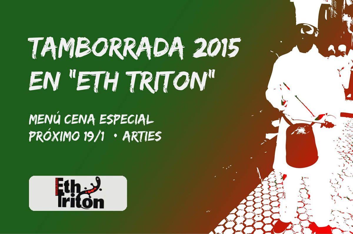 Tamborrada en Eth Triton, Arties. www.visitarties.es