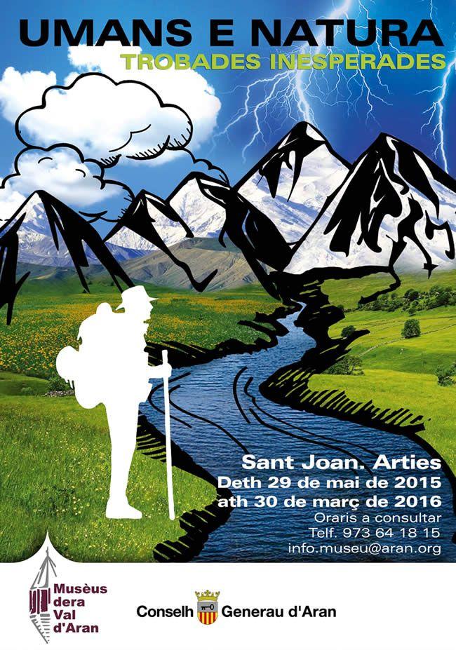 Exposición Umans e Natura, en Sant Joan d'Arties