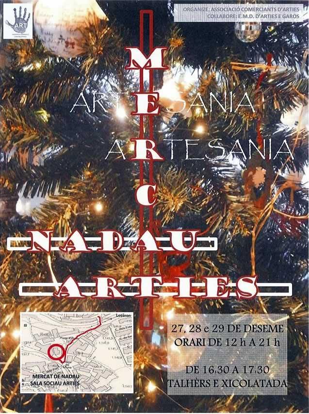 Mercado de navidad en #Arties