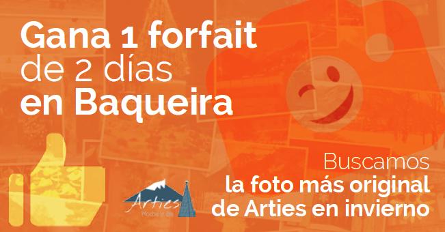 Concurso de fotografía - Visit Arties - Baqueira - Vall d'Aran