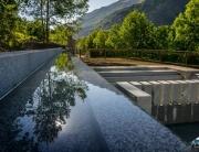 Piscinas termales en Arties, Val d'Aran