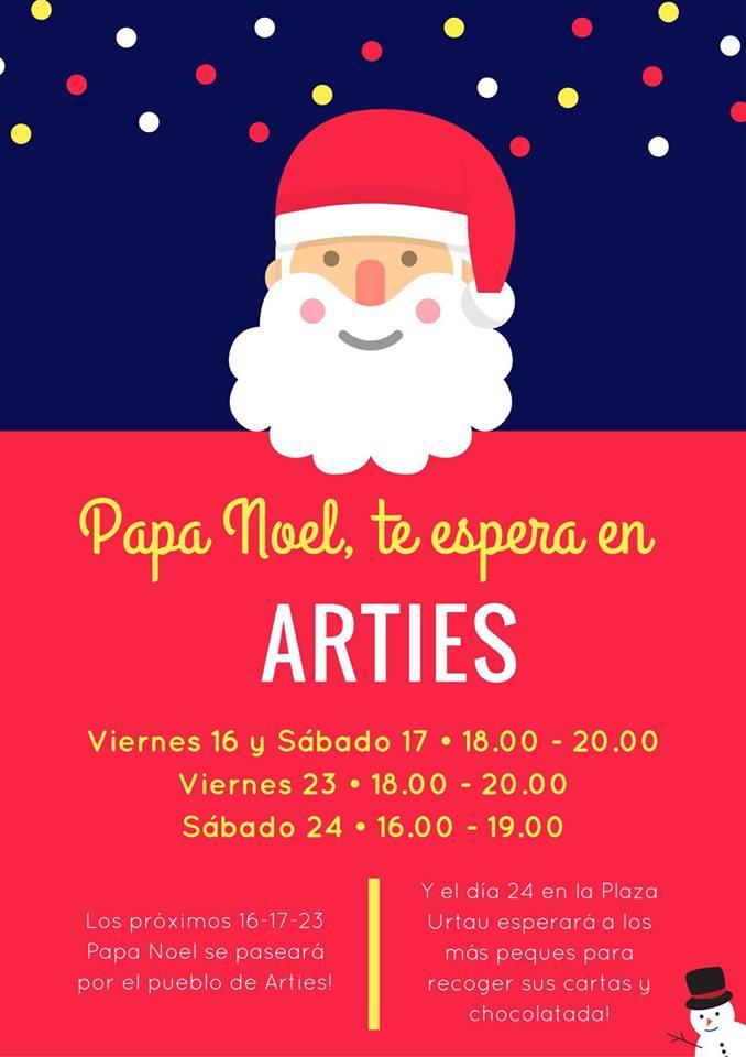 Papa Noel en Arties, Val d'aran