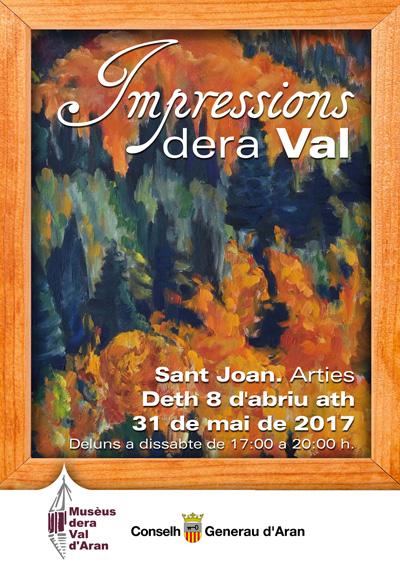 cartel exposición-impressions dera Val d'Aran