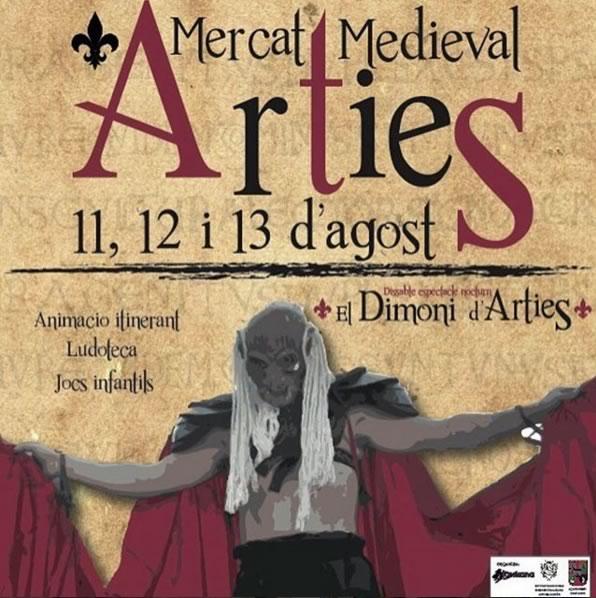 mercado-medieval-arties-valdaran-poster