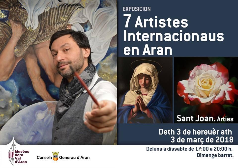 exposición 7 Artistas Internacionales en Aran