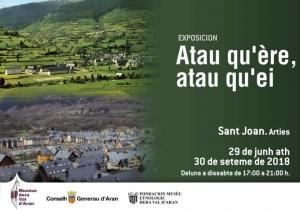 "Exposición ""Atau qu'ère, atau qu'èi"" @ Iglesia Sant Joan d'Arties"