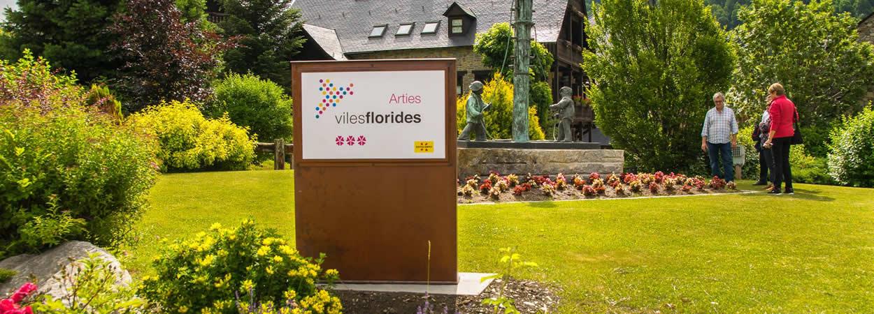 Arties, Viles florides, Val d'aran