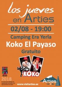 """Koko """"El Payaso"""" @ Camping Era Yerla d'Arties"""