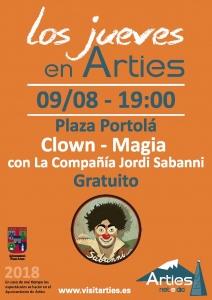 Clown - Magia con La compañia Jordi Sabanni @ Plaza Portolá