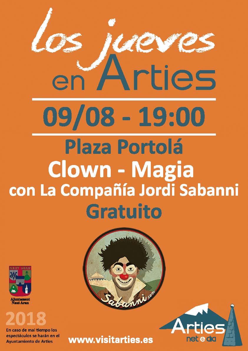 Clown - Magia con La compañia Jordi Sabanni