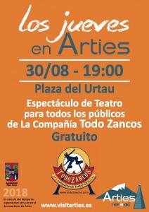 Espectáculo de Teatro para todo los públicos @ Plaza del Urtau