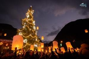 Encendido del árbol de Navidad 2019 @ Plaza Utau