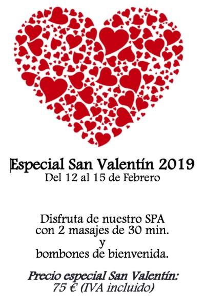 Hotel Casa Irene, especial tratamiento Spa en San Valentín