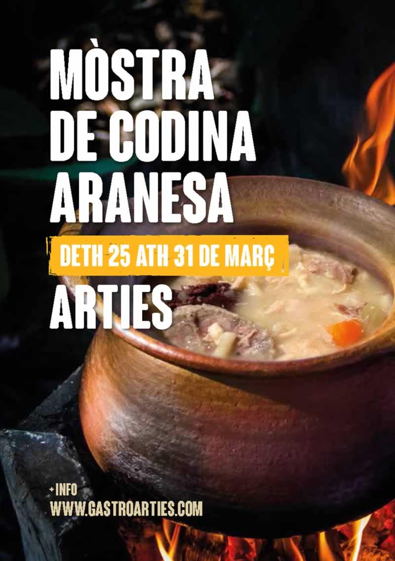 Muestra de cocina aranesa en Arties