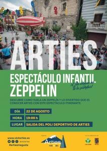Espectáculo infantil Zeppelin @ Polideportivo de Arties