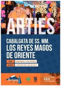 Cabalgata de SS. MM. Los Reyes Magos de Oriente 2020 @ Arties