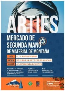 Mercado de 2da mano de material de montaña @ Sala del Ayuntamiento de Arties