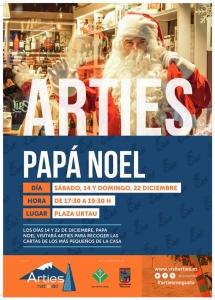 Papá Noel en Arties 2019 @ Plaza Urtau