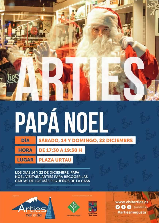 Papa Noel en Arties