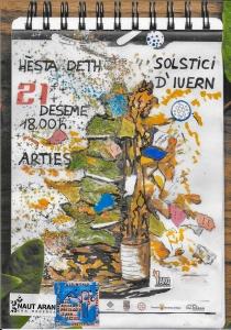 Fiesta del Solsticio de Invierno 2019 @ Plaza Urtau, Arties