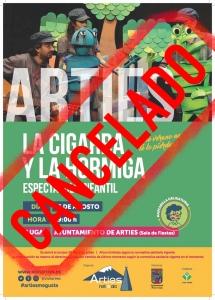 La cigarra y la hormiga - Espectáculo infantil @ Ayuntamiento de Arties (Sala de Fiesta)