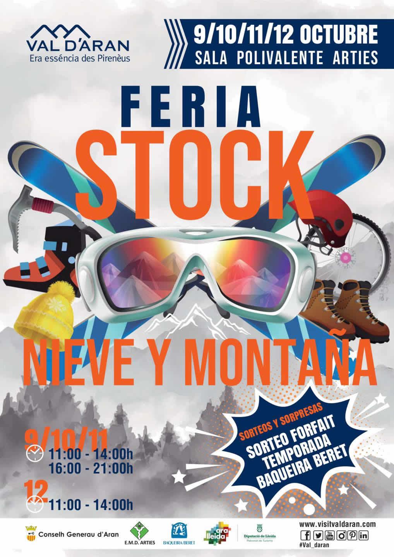 Feria stock nieve y montaña en Arties